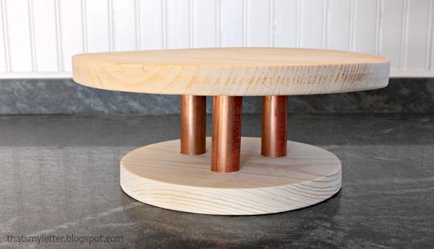 wood cake stand 2