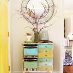Spring Foyer Vignette | Pretty Handy Girl