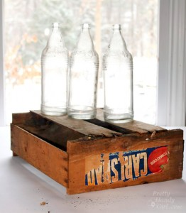 Build a Vintage Produce Crate Centerpiece – No Power Tools!