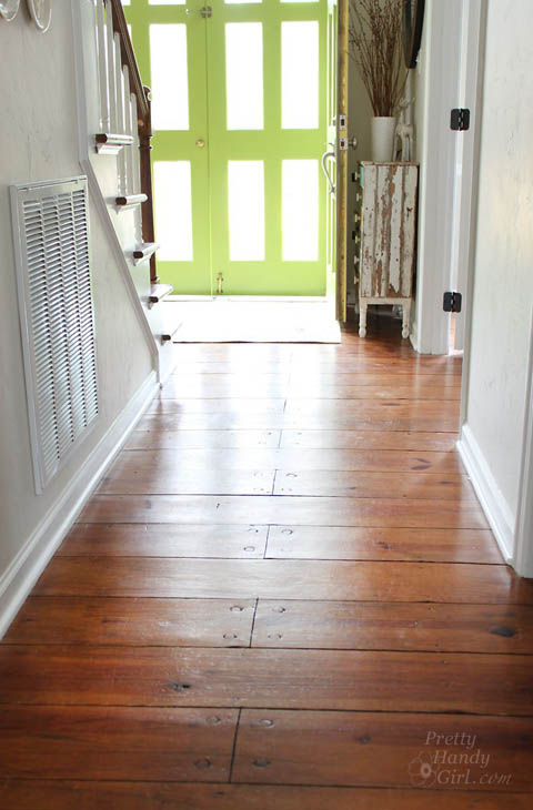 How to refinish wood floors without sanding for Hardwood floors too shiny
