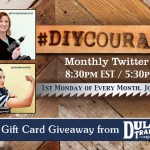 #DIYCourage Twitter Chat is Back
