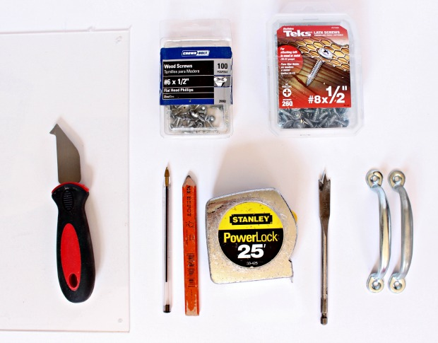 cut out tray supplies