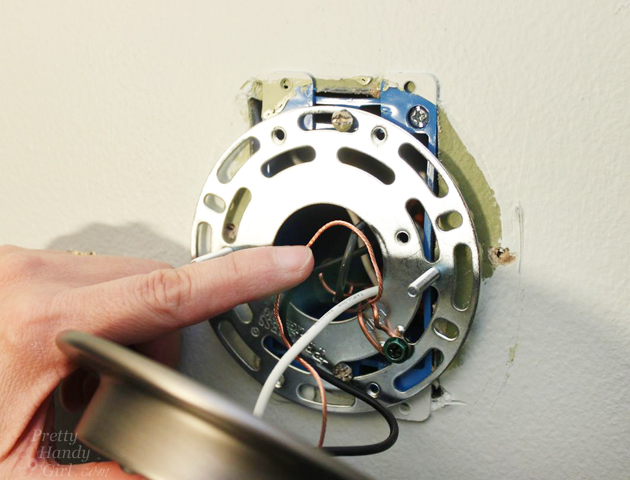 Vanity Light Mounting Plate : How to Install a Wall Sconce Light Fixture