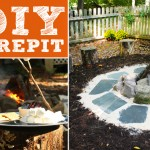 DIY Firepit and Seating