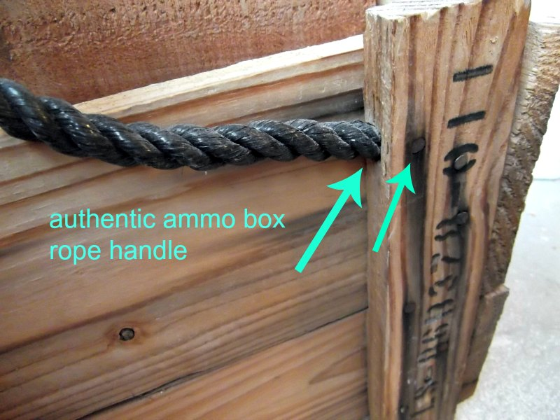 Wood Boxes With Rope Handles ~ Diy decorative ammo box pretty handy girl