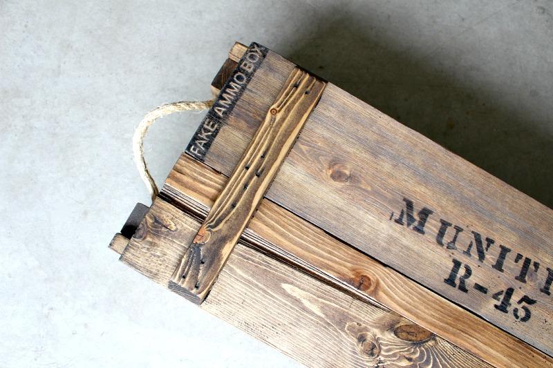 faux ammo box