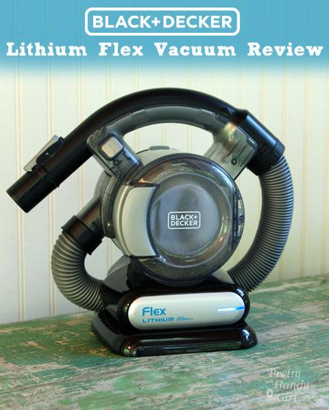 Black + Decker Flex Lithium Vacuum   Pretty Handy Girl