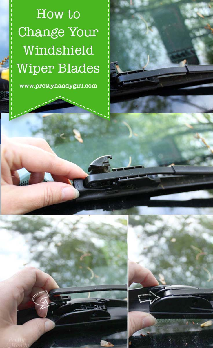 How to Install a Windshield Wiper Blade   Pretty Handy Girl