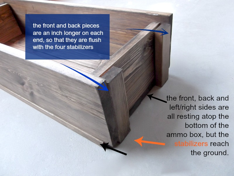 How To Make A Decorative Wooden Box Pleasing Diy Decorative Ammo Box  Pretty Handy Girl Review