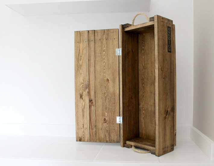 open ammo box