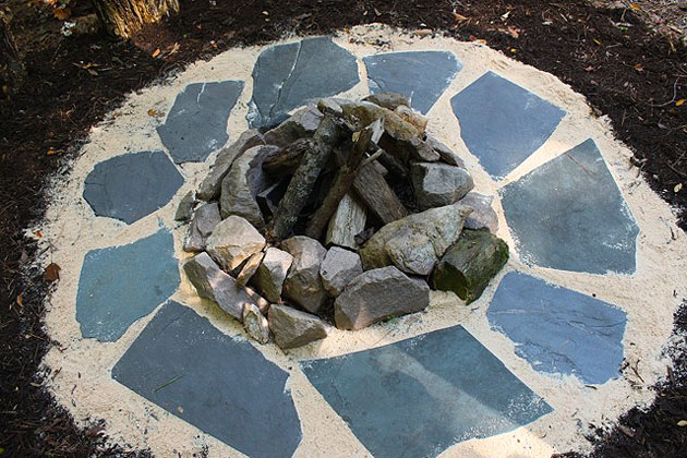 Diy Firepit And Seating Pretty Handy Girl