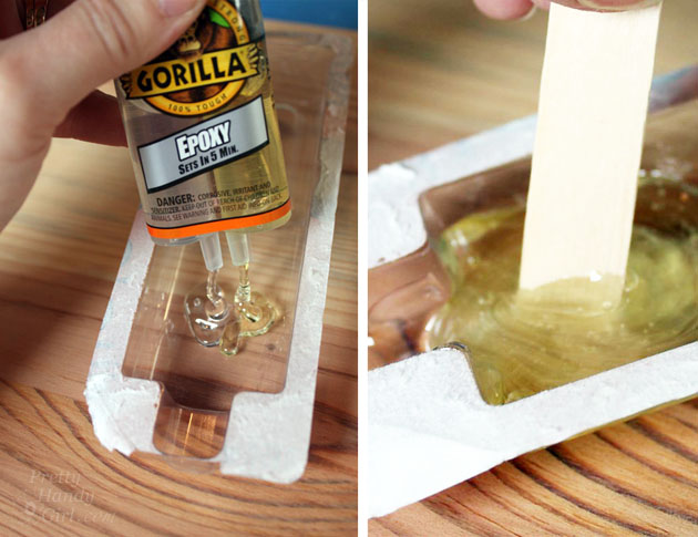 How to fill voids and knot holes in wood for Wood floor hole filler