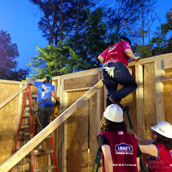 Habitat for Humanity Women Build Charlotte, NC | Pretty Handy Girl