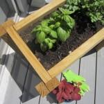 Scrap Wood Planter Box