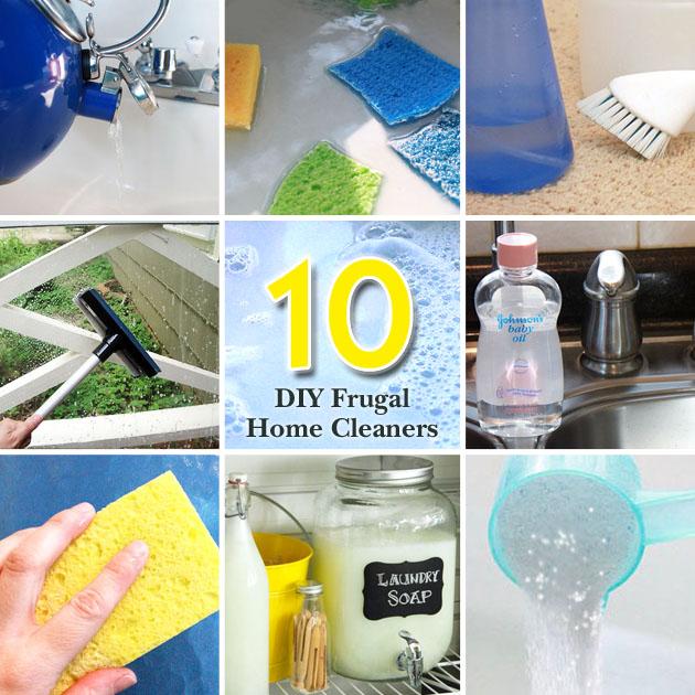 10 DIY Frugal Cleaners | Pretty Handy Girl
