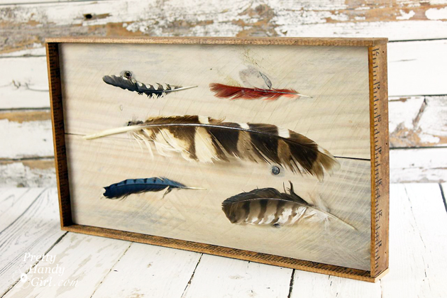 DIY Feather Art