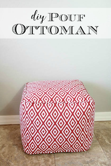 How To Make A Square Pouf