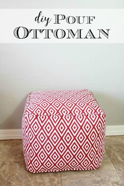 Make Your Own Pouf Ottoman