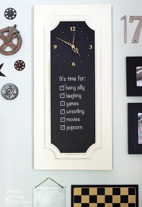 Make Your Own Clock Sign