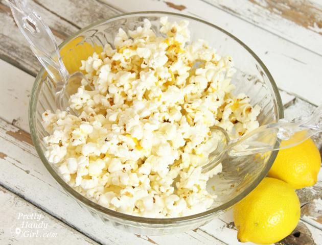 Lemon Zest Popcorn {Gift Idea} | Pretty Handy Girl