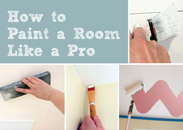 how to paint a room like a pro pretty handy