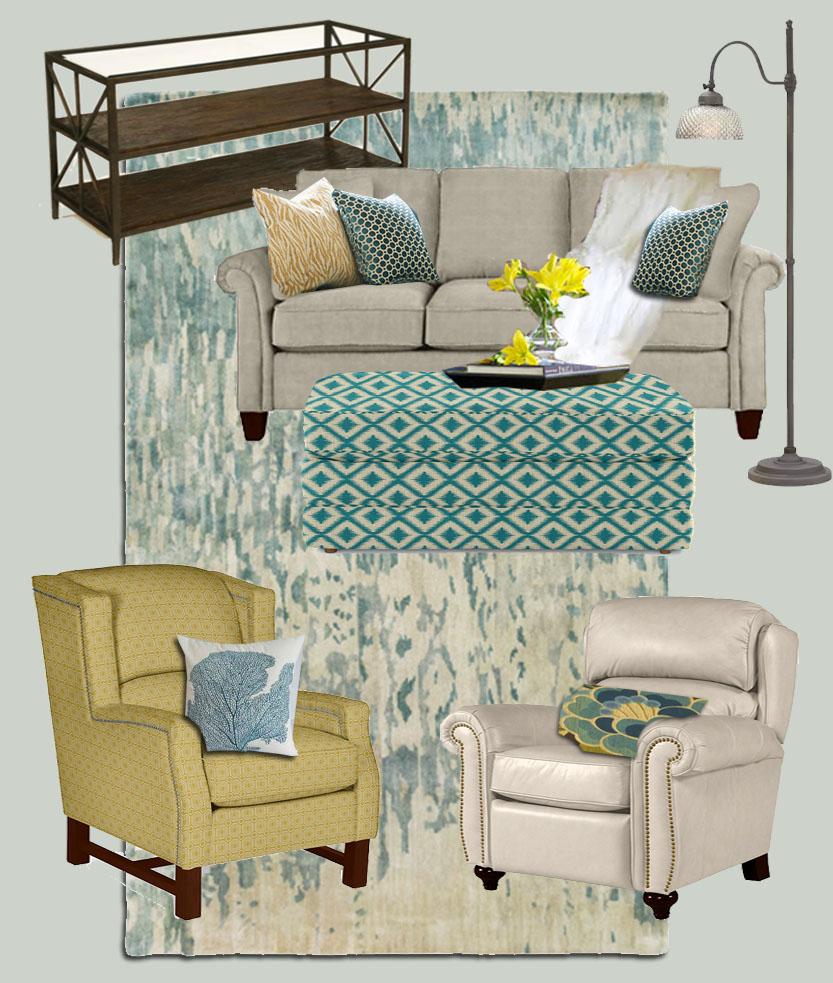 La-Z-Boy Living Room Mood Board   Pretty Handy Girl
