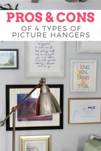 Pros and Cons of 4 Types of Picture Hangers