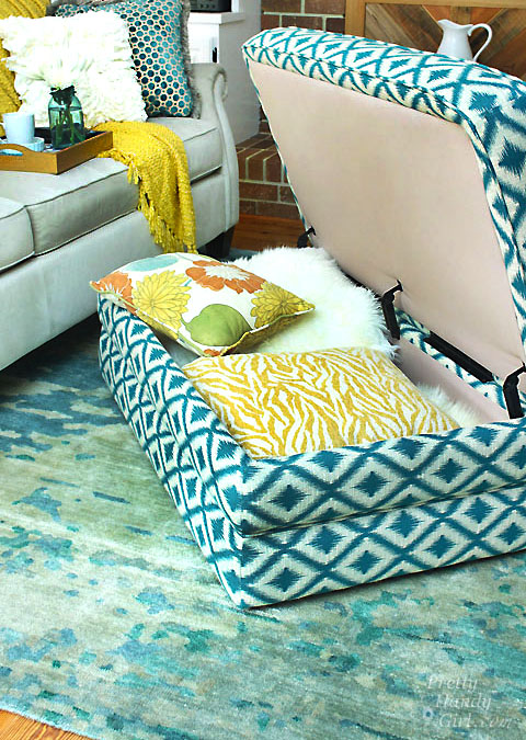 Lovely Daphne Ottoman From La Z Boy | Pretty Handy Girl