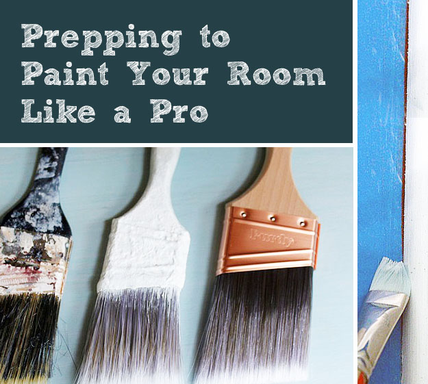 Prepping to paint your room like a pro - How we paint your room ...