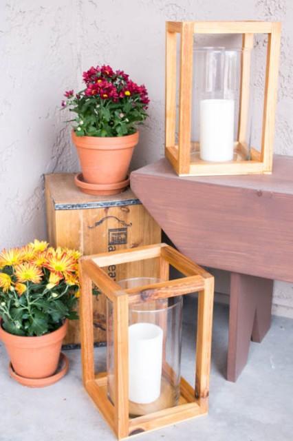 DIY-wood-lanterns