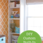 Check out this DIY custom bookcase tutorial from Pretty Handy Girl | DIY bookcase | built-in bookcase | #prettyhandygirl #bookcase #DIY #builtin