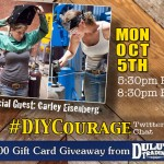 DIY Courage Chat with Special Guest Carley Eisenberg