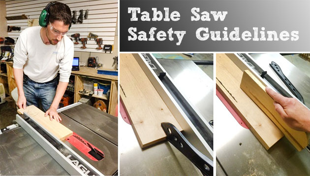 Table Saw Safety And Guidelines