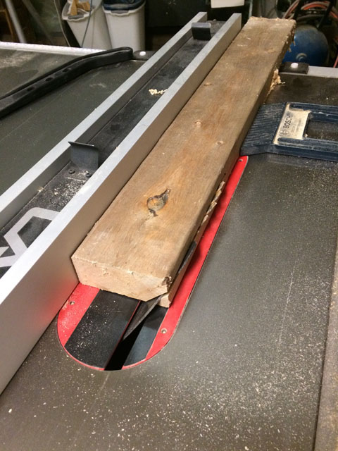 how to make bevel rip cut table saw