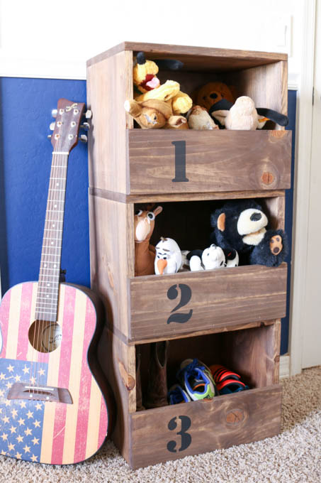 These DIY Stacking Cubbies Are A Great Storage Solution For Stuffed  Animals, Shoes, And