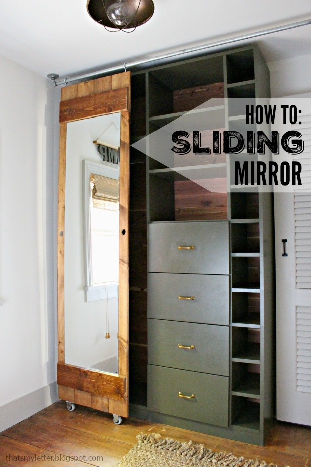 how to build a sliding mirror door. Black Bedroom Furniture Sets. Home Design Ideas