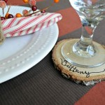 Personalized Wood Slice Coasters