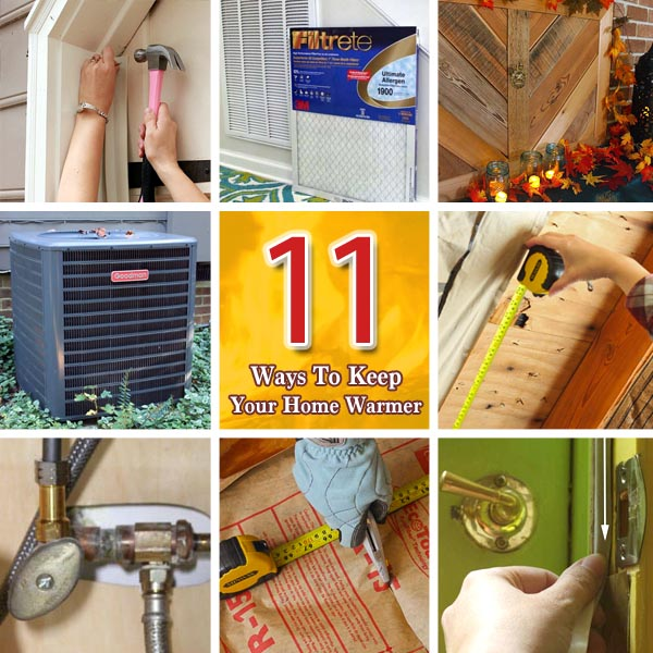 11 Ways to Keep Your Home Warmer This Winter   Pretty Handy Girl