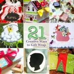 21 Creative Ways to Gift Wrap | Pretty Handy Girl