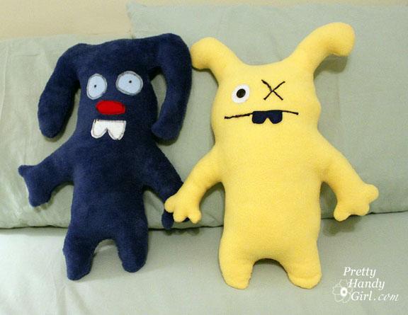 Make Your Own Monster Dolls