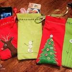 Sew Mini Gift Pouches from Napkins