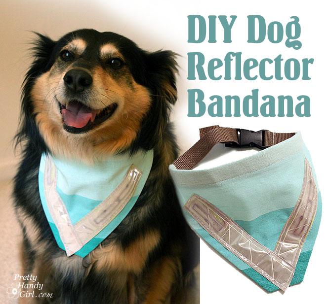Sew a Dog Safety Reflective Bandana