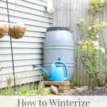 How to Winterize Your Rain Barrel