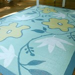 Painted Bamboo Rug