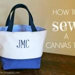 How to Sew a Custom Tote