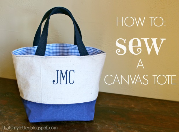 How to Sew a Custom Tote