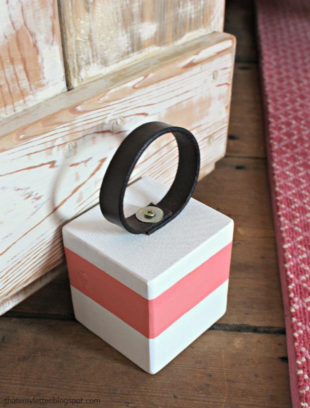 Wooden Wedding Ring Box 95 Unique door stop