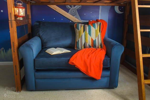 Awesome La Z Boy Leah Sleeper Chair and a Half