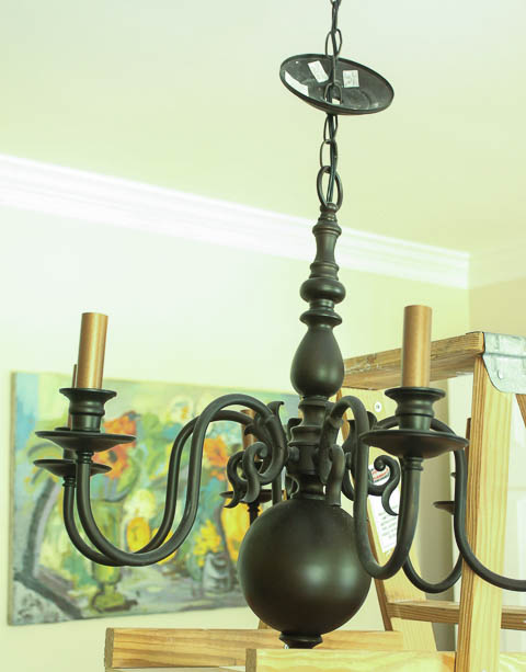 How to install a new chandelier pretty handy girl