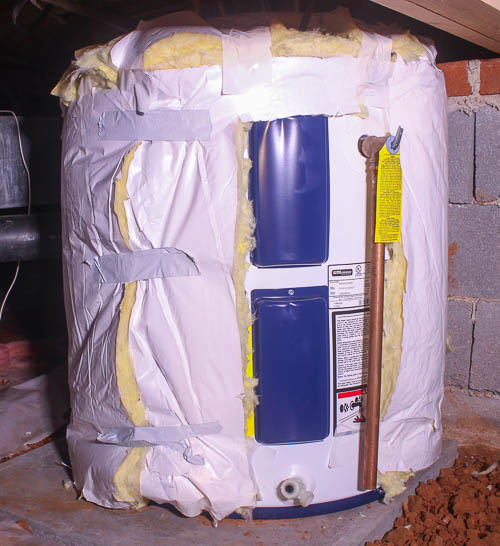 How to Make a Tank Style Water Heater More Energy Efficient